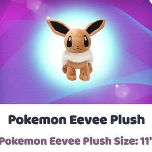 """POKEMON Eevee 11"""" Plush"""